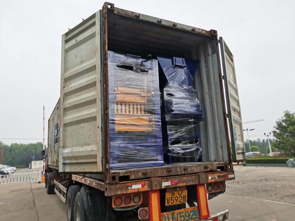 semi automatic cement block machine to Honduras