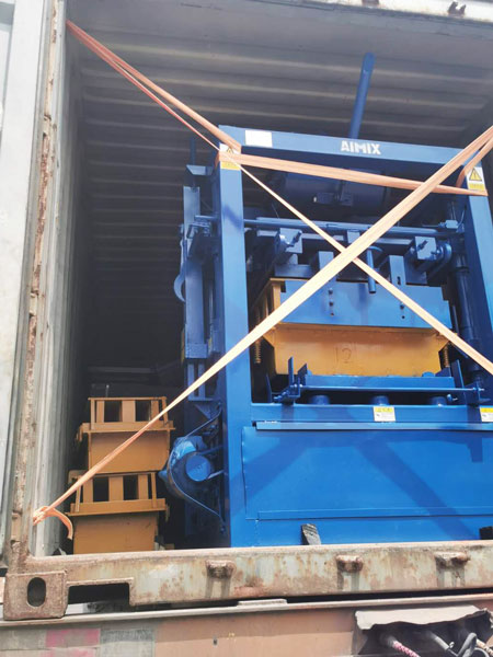 ABM-4SE block machine to Philippines
