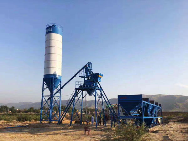 AJ-25 concrete plant