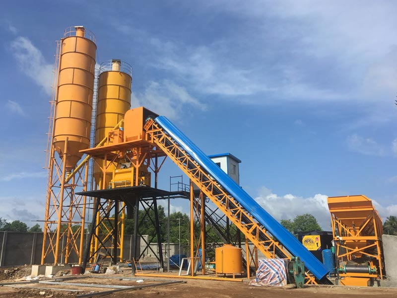 AJ-60 stationary batching plant