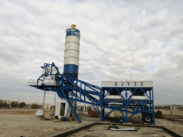 AJY-35 mobile plant Uzbekistan