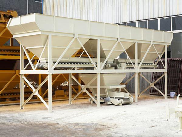 concrete batching machine in plant