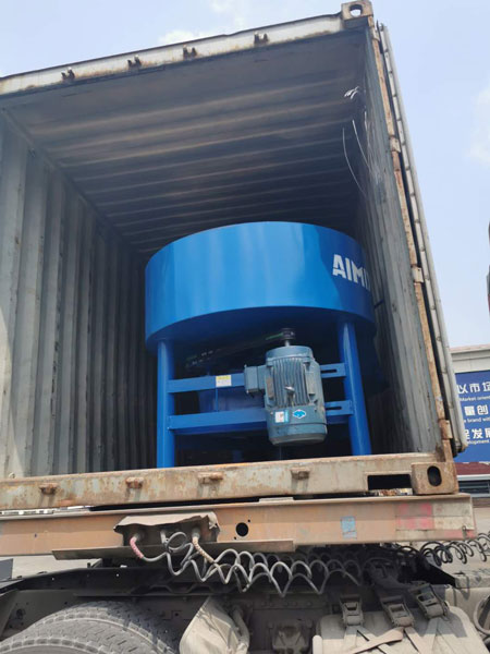 concrete mixer machine of block machine