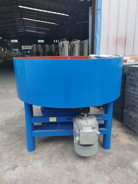 concrete pan mixer of block machine
