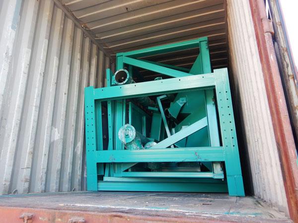 concrete plant machine deliver to Philippines
