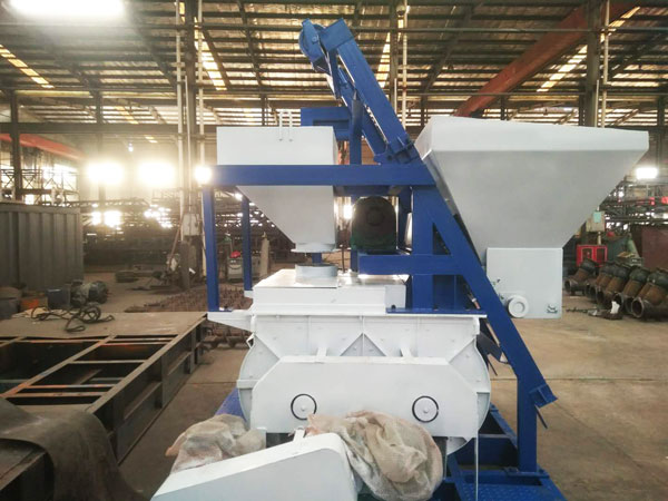 mini concrete batch plant Russia