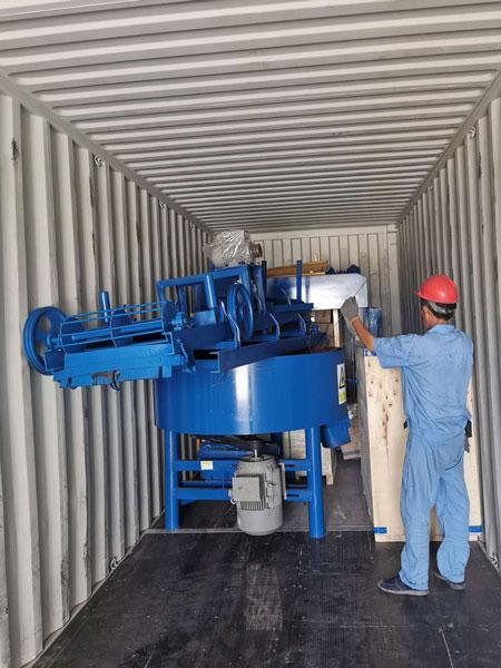 mixer of block machine