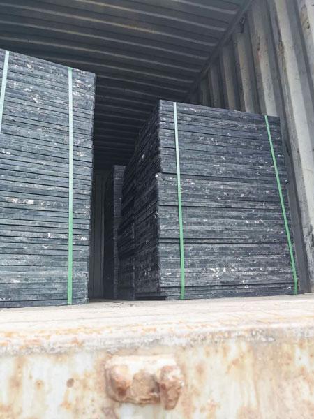 pallets of block machine
