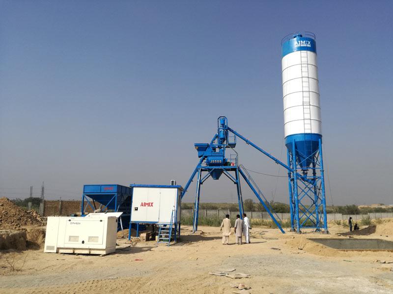 AJ-25 ready mix concrete-plant