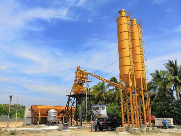 AJ-35 concrete plant Indonesia