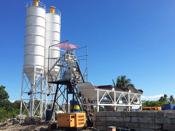 AJ-50 concrete plant Indonesia