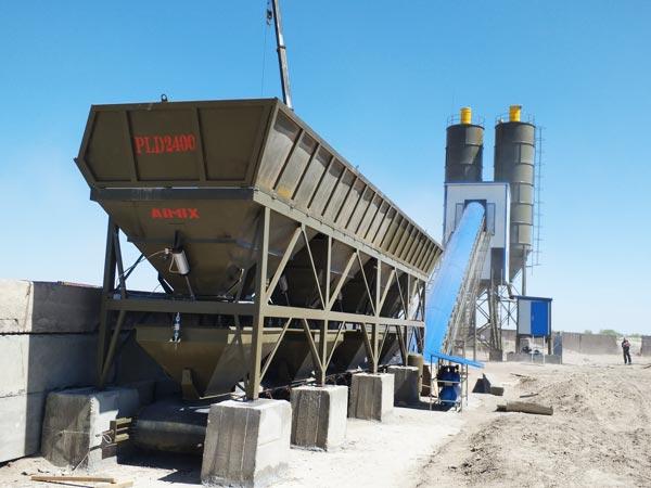 AJ-90 concrete plant Indonesia