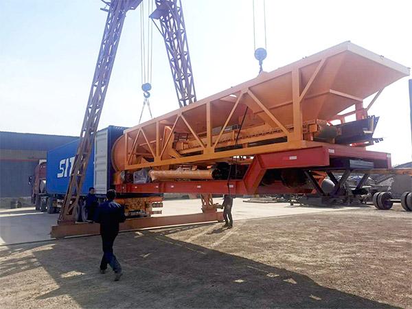 AJT-60 portable batch plant Indonesia