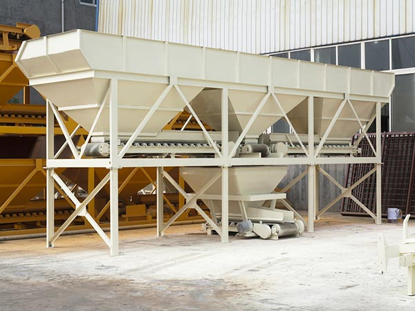 concrete batcher machine