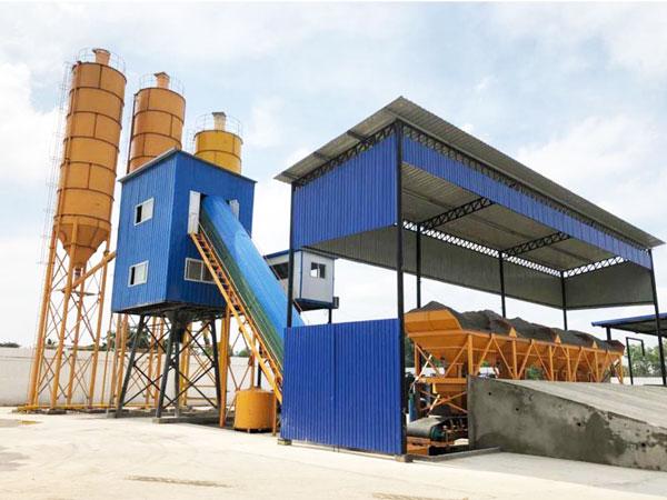 AJ-60 concrete batching plant