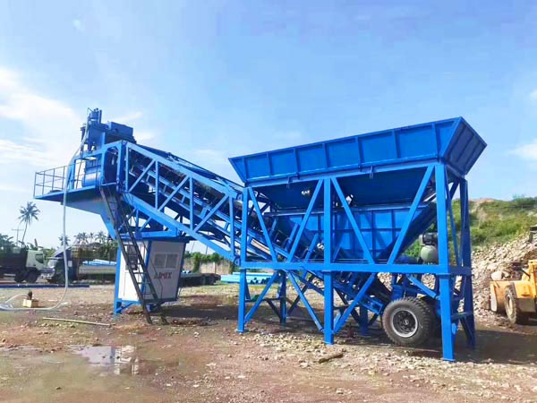 AJY-35 mobile batching plant Philippines