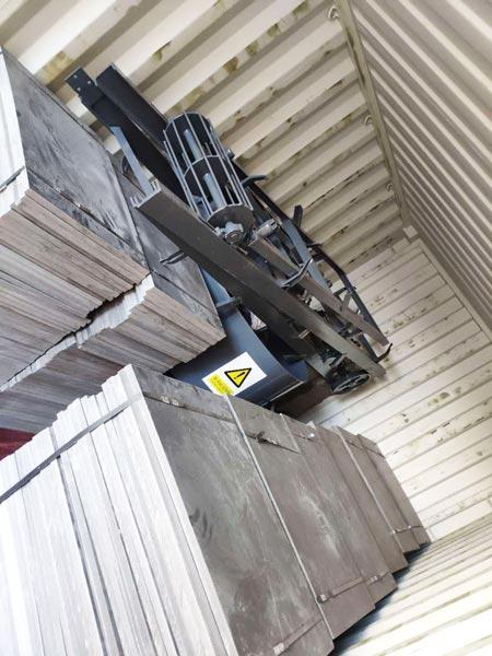 pallets of small brick machine