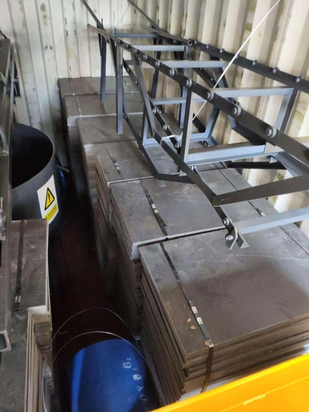 part of small brick making machine