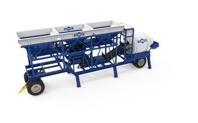 portable cement batch plant