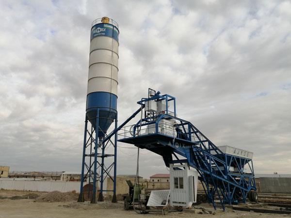 AJY-35 mobile concrete plant UZ