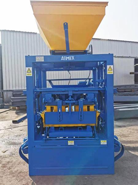concrete block machine to Jamaica