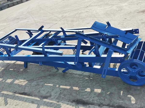 part of concrete block machine