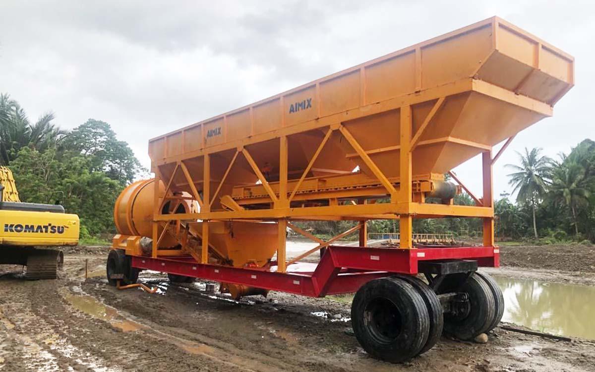 Tragbares Betonwerk AJT-35 Ambon