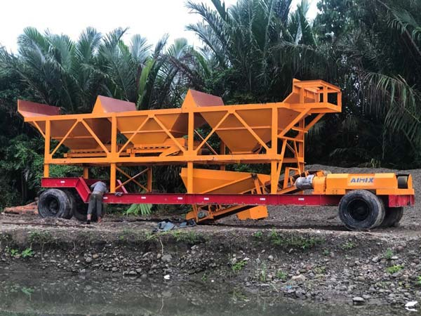 Tragbares Betonwerk AJT-35