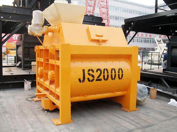 Mezcladora de concreto de doble eje JS2000