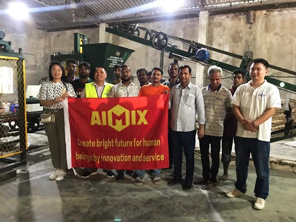 ABM-3S hollow block machine Bangladesh