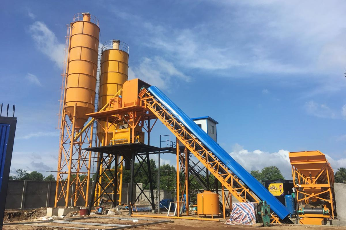 AJ-60 concrete plant Sri Lanka