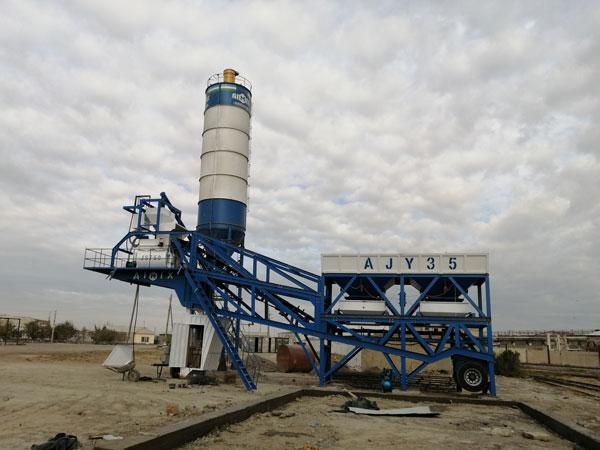 AJY-35 mobile batch plant