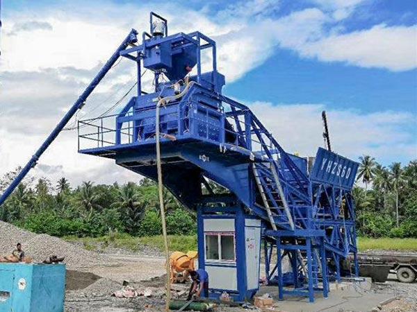 AJY-60 mini concrete plant Philippines