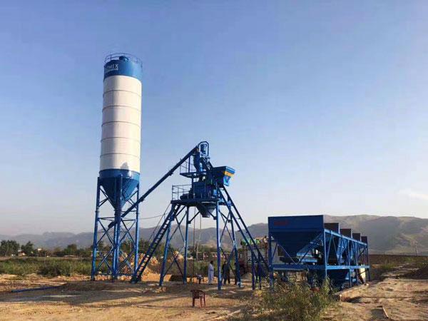 AJ-25 hopper concrete plant