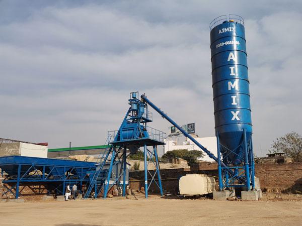 AJ-50 batching plant Pakistan