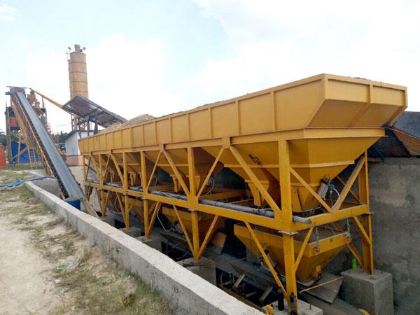 AJ-90 batching plant Indonesia
