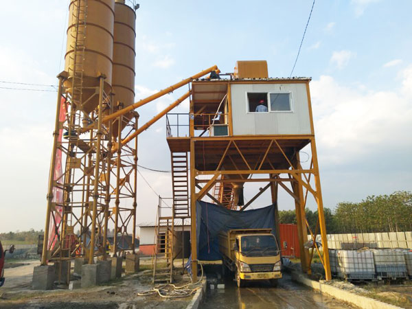AJ-90 batching plant in Indonesia
