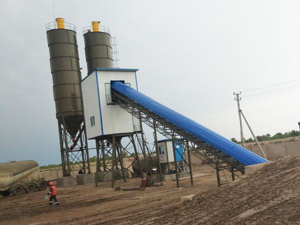 AJ-90 concrete batching plant UZ