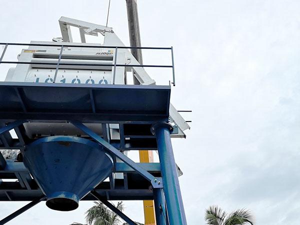 twin shaft concrete mixer JS1000
