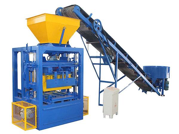 Machine de fabrication de briques de cendres volantes semi-automatique ABM-4SE